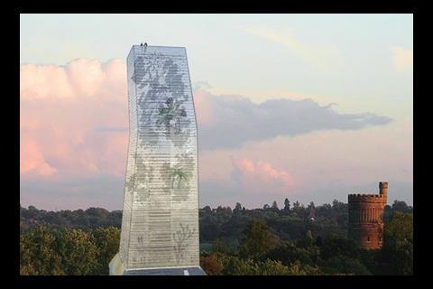 Alsop's plan for a tower in Croydon